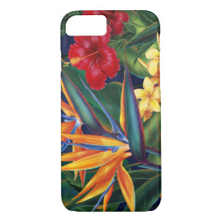 Tropical Paradise Hawaiian iPhone 7 case