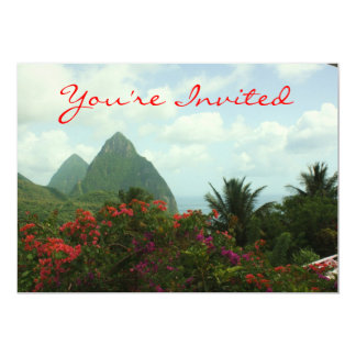 Tropical Paradise Invitation
