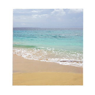 tropical paradise notepad