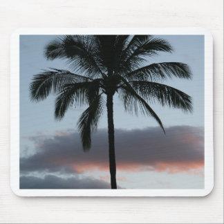 Tropical Paradise Palm Tree Mouse Pad