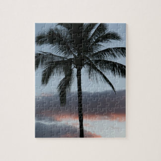 Tropical Paradise Palm Tree Puzzle