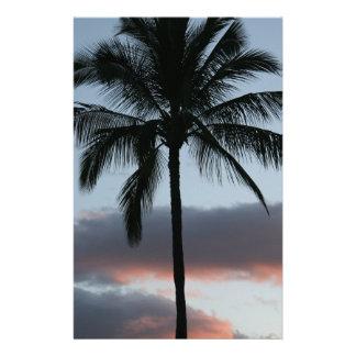 Tropical Paradise Palm Tree Stationery