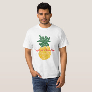 Tropical Paradise Pineapple T-Shirt