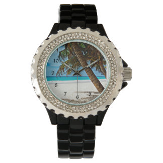 Tropical Paradise - Sunny day at the beach Wristwatch