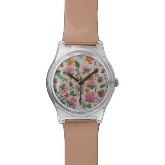 Tropical paradise wrist watches