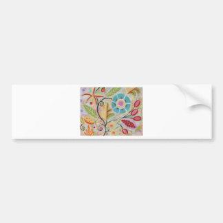 tropical paridise bumper sticker