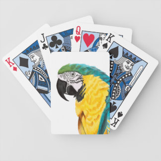 Tropical Parrot Bird Bicycle Playing Cards