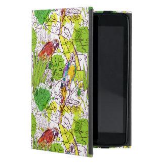 Tropical Parrots iPad Mini Covers