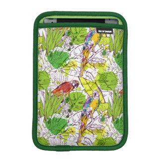 Tropical Parrots iPad Mini Sleeves