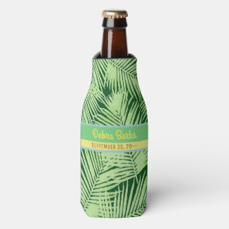 tropical party palm leaves custom