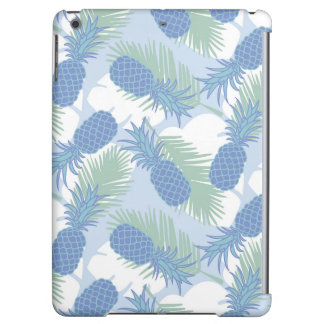 Tropical Pastel Pineapple Pattern