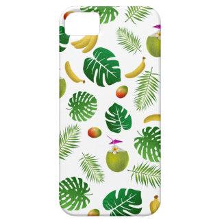 Tropical pattern barely there iPhone 5 case