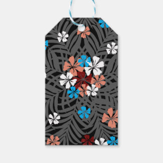 TROPICAL PATTERN GIFT TAGS