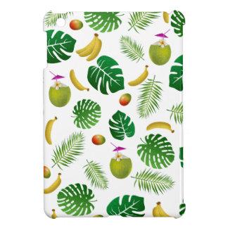 Tropical pattern iPad mini cover