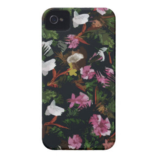 Tropical pattern iPhone 4 case