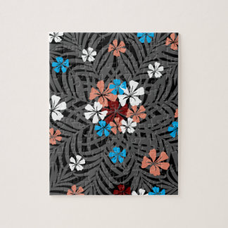 TROPICAL PATTERN JIGSAW PUZZLE