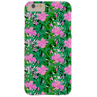 Tropical Pattern With Jungle Flowers Barely There iPhone 6 Plus Case