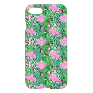 Tropical Pattern With Jungle Flowers iPhone 7 Case