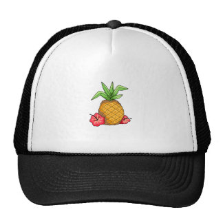 Tropical Pineapple Trucker Hat