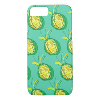 Tropical pineapple iPhone 8/7 case