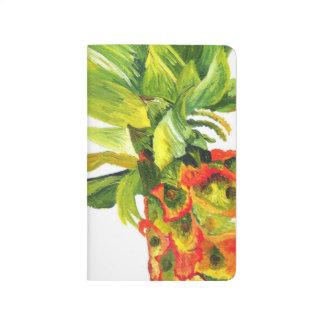 Tropical Pineapple Painting -Kimberly Turnbull Art Journal