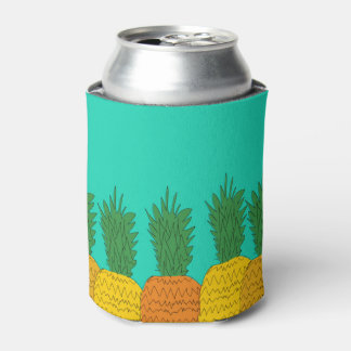 Tropical Pineapple Party Beer Coozies