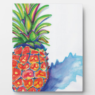 Tropical Pineapple Plaque