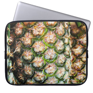 Tropical Pineapple Punch Texture. Laptop Sleeve