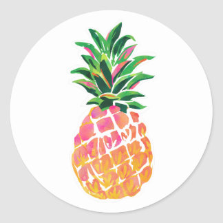 Tropical Pineapple Stickers