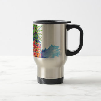 Tropical Pineapple Travel Mug
