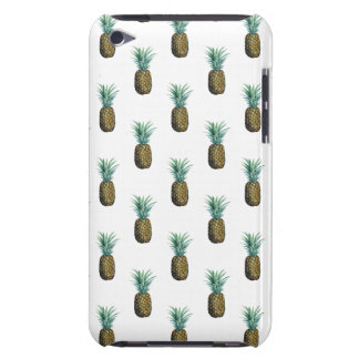 Tropical Pineapple Watercolor iPod Touch Cases