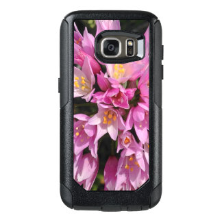 Tropical Pink and Yellow Flowers OtterBox Samsung Galaxy S7 Case