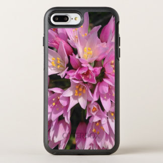 Tropical Pink and Yellow Flowers OtterBox Symmetry iPhone 8 Plus/7 Plus Case