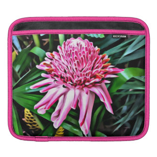 Tropical Pink Ginger iPad Sleeve