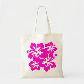 Tropical Pink Hibiscus Bag