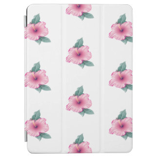 Tropical Pink Hibiscus Flower iPad Air Smart Cover iPad Air Cover