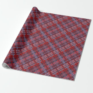 Tropical Plaid Wrapping Paper