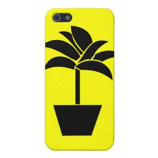 Tropical Plant In Pot iPhone 5 Covers