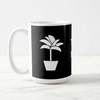 Tropical Plant In Pot Coffee Mugs