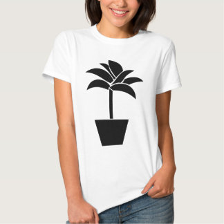 Tropical Plant In Pot Shirt