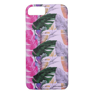 Tropical Plant Pattern iPhone Case