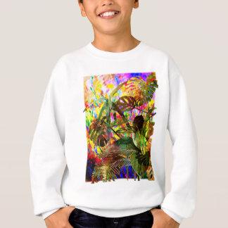 Tropical Plants and Flowers Sweatshirt