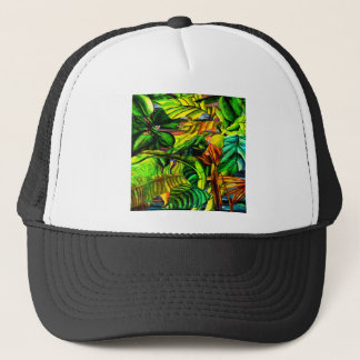 Tropical Plants Trucker Hat