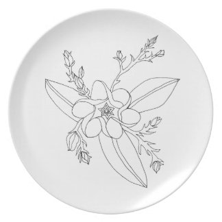 Tropical Plate