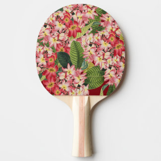 Tropical Plumeria Flowers Floral Paddle