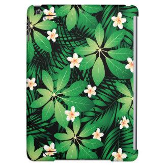 Tropical plumeria lush forest
