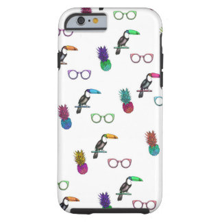 Tropical Print (Phone Case) Tough iPhone 6 Case