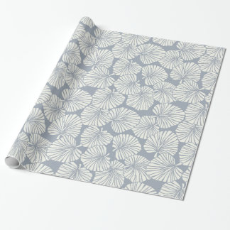 tropical print wrapping paper