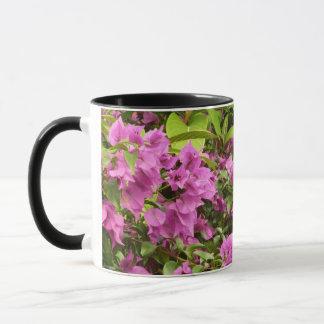 Tropical Purple Bougainvillea Mug