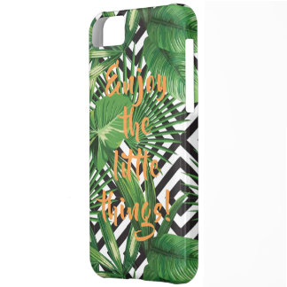 Tropical Quote iPhone 5C Case